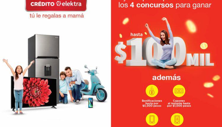 La promoción Elektra Día de las Madres 2021 tiene premios de hasta $100,000