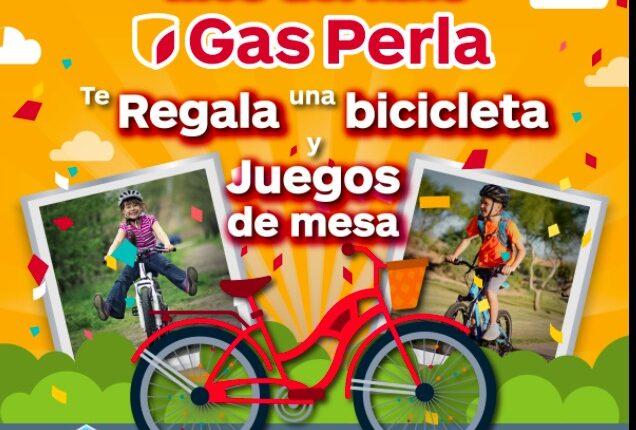 Gas Perla presenta su concurso del Día del Niño 2021 en donde regala una bicicleta