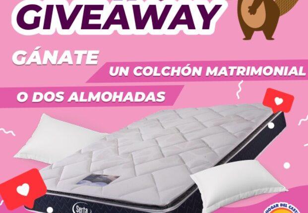 Giveaway Día de las Madres: Gana un colchón matrimonial cortesía del Hogar del Castor