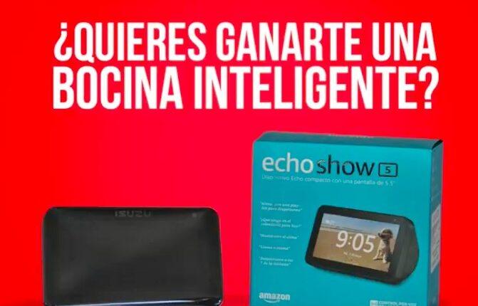 Gana un dispositivo Echo Show 5 en la Dinámica de Isuzu del Día del Niño