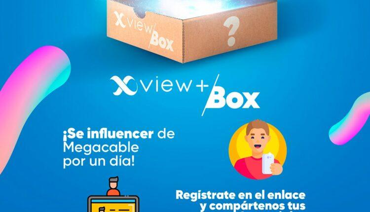 Concurso Influencer Megacable: Gana 3 meses de Xview Total Streaming 150 con Prime Video y Netflix