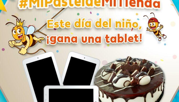 Dinámica Mi Pastel de Mi Tienda: Gana 1 de 3 tablets