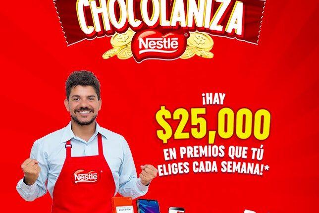 Promoción Nestlé Chocolaniza 2021: Gana moto Italika, refrigerador o premios con valor de hasta $25,000
