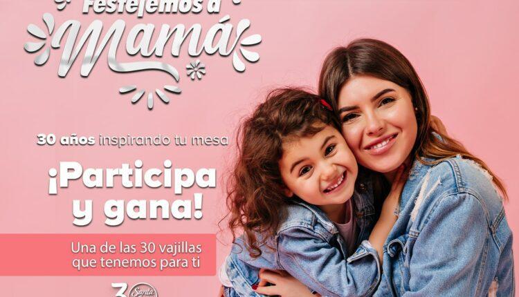 El Concurso Santa Anita del Día de las Madres regala 30 vajillas