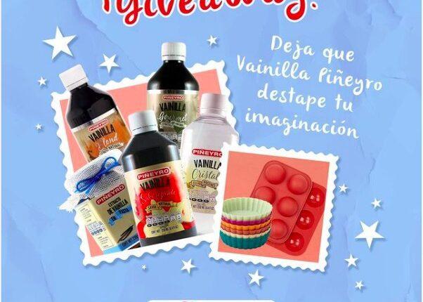 Gana un kit de Vainillas Piñeyro con moldes, productos y recetario