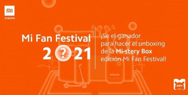 Gana una Mi-stery Box con gadgets Xiaomi sorpresa cortesía del Mi Fan Festival 2021
