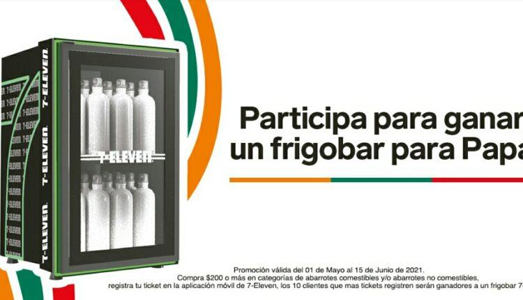 Promo 7-Eleven Día del Padre: Gana un frigobar para papá