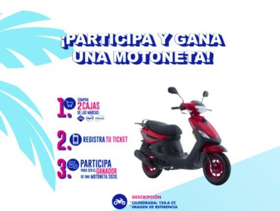 Concurso Verano Abarrotero: Gana una motoneta en veranoabarroteroconessity.com
