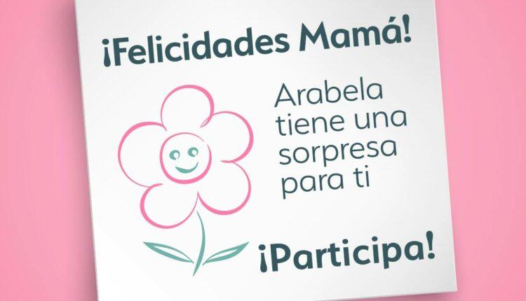 Gana un kit de productos Arabela en su dinámica del Día de las Madres