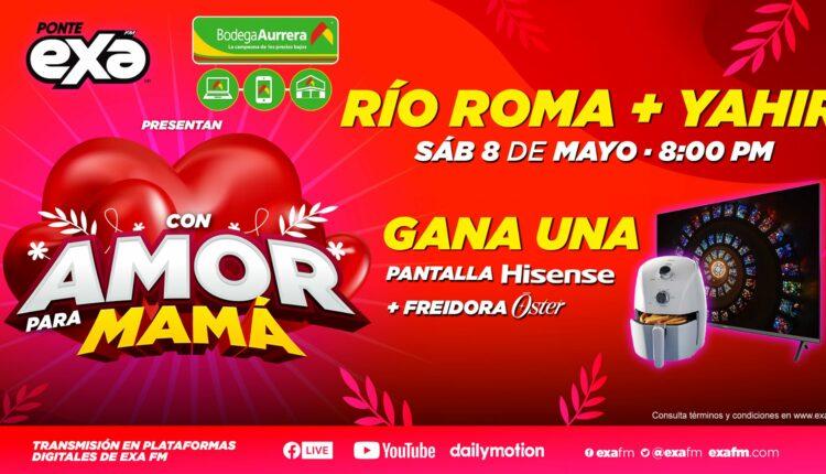 Promo Bodega Aurrerá y Exa FM con Amor para Mamá: Gana pantallas Hisense y más