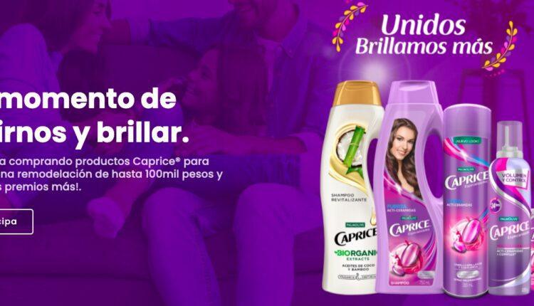 Promo Caprice Unidos Brillamos Más: Gana remodelación de hasta $100,000 en unidosbrillamosmas.com