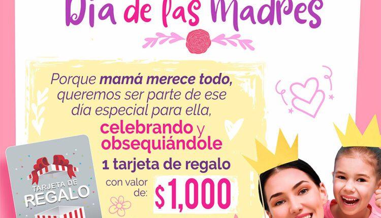 Giveaway del Día de las Madres Casa Ley: Gana 1 de 3 tarjetas de regalo de $1,000