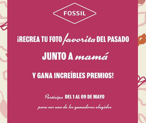 Fossil presenta su concurso del Día de las Madres en donde regala smartwatch, bolsa y más