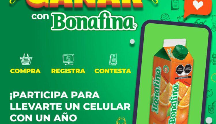 Promoción Gana con Bonafina: Gana smartphone, códigos Netflix y más en ganaconbonafina.com