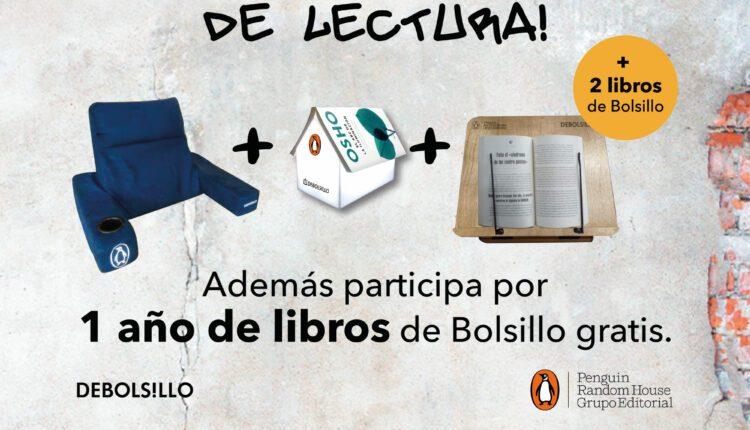 Concurso Gandhi y Penguin: Gana estación de lectura y 1 año de libros