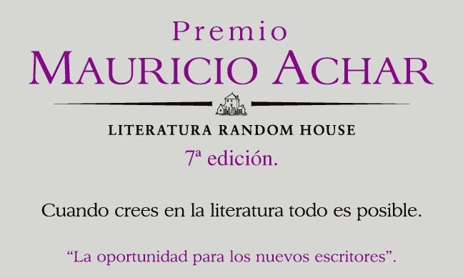 Premio Mauricio Achar 7a Edición 2021: Gana $150,000