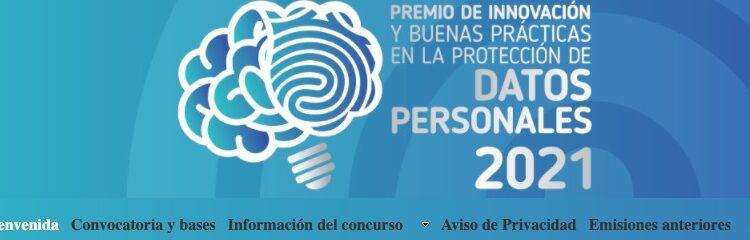 Concurso INAI Premio a la Innovación en la Protección de Datos Personales 2021: Gana hasta $100,000