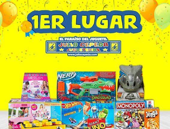 Concurso Julio Cepeda: Gana 1 de 3 kits de juguetes y juegos de mesa para la familia