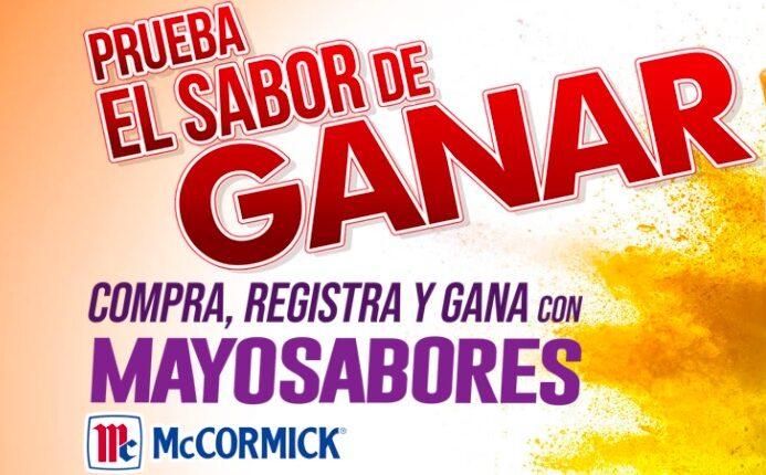 Promoción McCormick Mayosabores: Gana motos, bicis eléctricas o pantallas