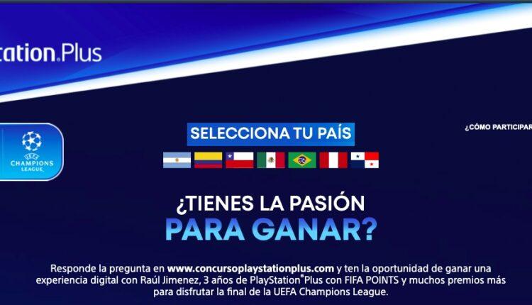 Concurso PlayStation Plus Final UEFA Champions League 2021: Gana 3 años de PS Plus y más en concursoplaystationplus.com