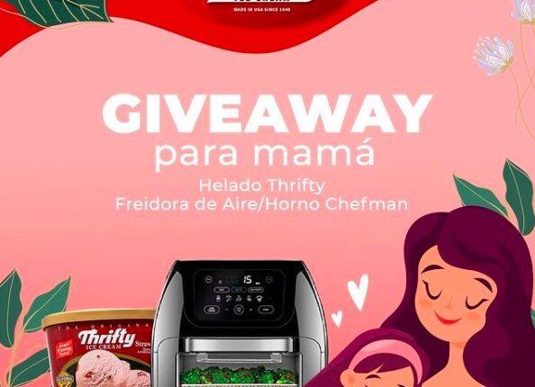 Gana una freidora de aire en el Giveaway de las Madres de Helados Thrifty