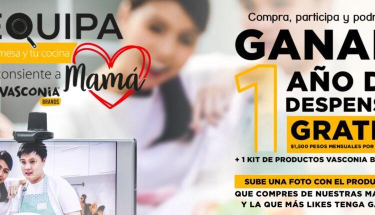 Promoción Ekco Equipa tu Cocina: Gana un año de despensa gratis y más en equipatucocina.com.mx