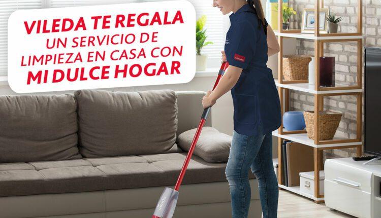 Gana un servicio de limpieza para tu hogar cortesía de Vileda y Mi Dulce Hogar