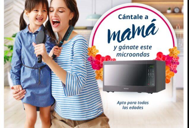 Gana un microondas Winia en su nuevo concurso Cántale a Mamá