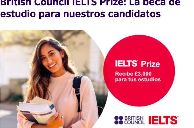 British Council Test IETLS Prize 2021: Gana premio de £3,000