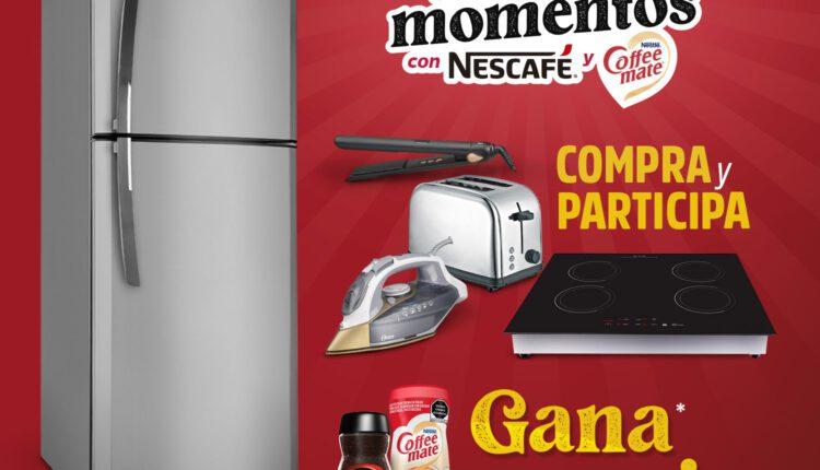 Promoción Casa Ley Nescafé y Coffee Mate: Gana refrigeradores, parrillas y más