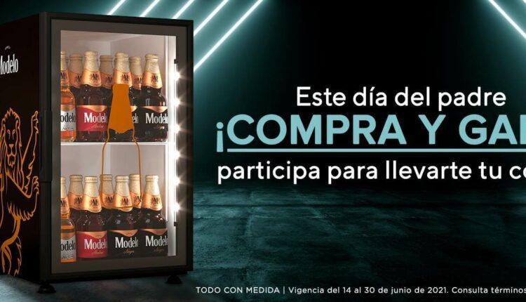 Promo Chedraui y Modelo Día del Padre: Gana un cooler de cervezas