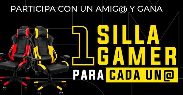 Gana una silla gamer para ti y otra para un amigo en el concurso de Club Strib
