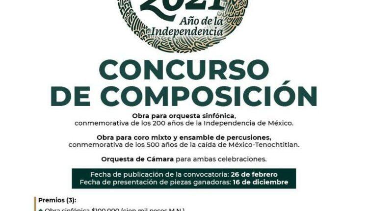 Concurso de composición vinculado a la herencia cultural mexicana: Gana hasta $100,000 pesos