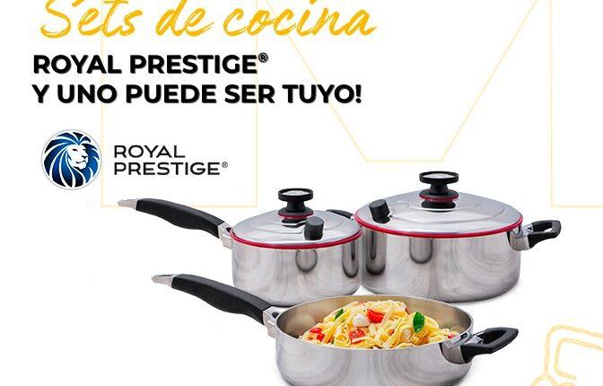 Concurso Club El Gourmet Junio 2021: Gana un set de cocina Royal Prestige