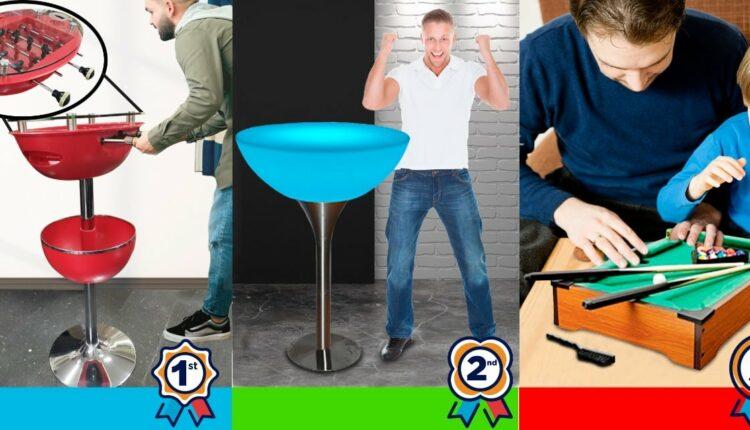 Concurso Día del Padre Galerías El Triunfo: Gana futbolito, mesa con luz led o mesa de billar