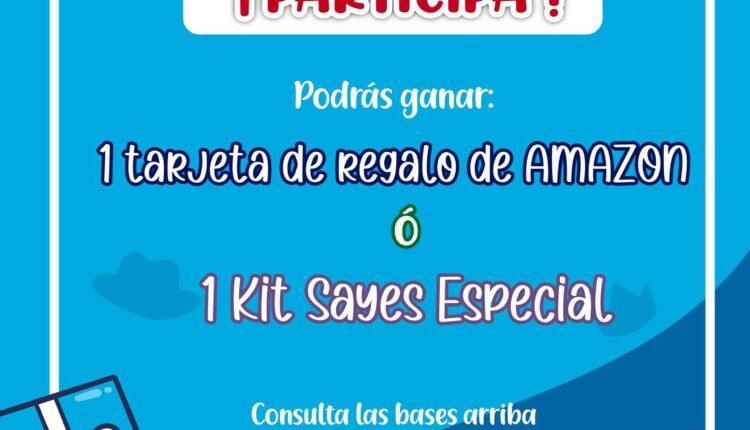 Concurso del Día del Padre: Gana una tarjeta de regalo Amazon cortesía de gelatinas Sayes