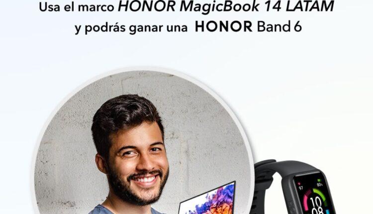 Participa para ganar una smartband en el nuevo concurso de Honor México