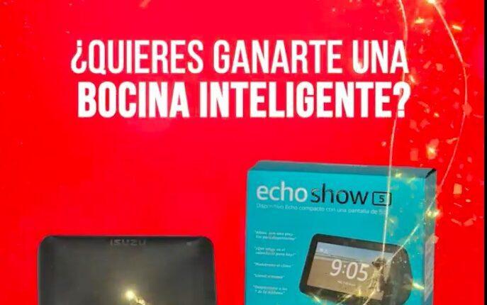 Concurso Día del Padre Isuzu: Gana una bocina inteligente Echo Show