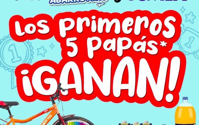 Concurso Zorro Abarrotero y Jumex Día del Padre: Gana 1 de 5 bicicletas