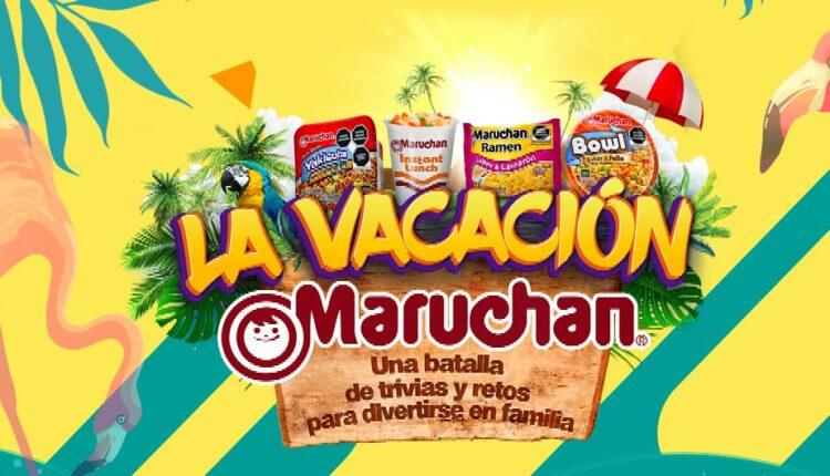 Promo la Vacación Maruchan 2021: Gana hasta $80,000 pesos en premios