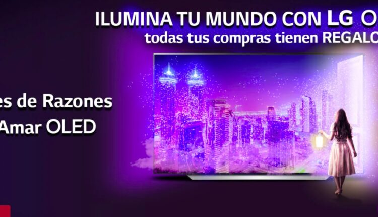"""Concurso LG Millones de Razones para Amar OLED: Gana 1 de 30 Pantallas LG OLEDC1 de 48"""""""