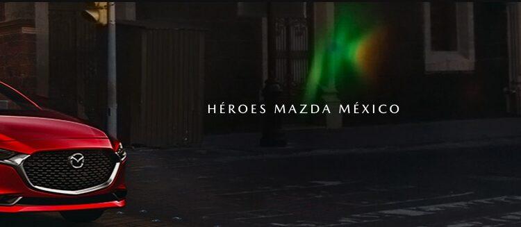 Concurso Héroes Mazda México: Gana 1 de 3 autos Mazda3 Sedán iSport 2021