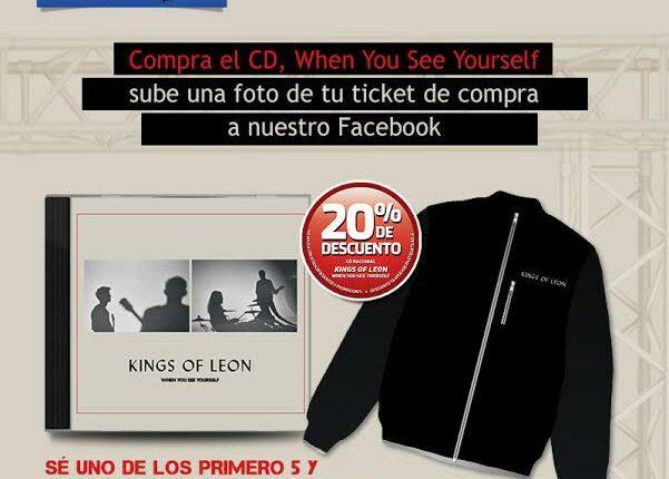 Gana una chamarra oficial de Kings of Leon cortesía de Mixup
