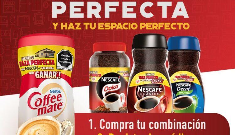 Promoción Nescafé y Coffee Mate Taza Perfecta 2021: Registra tus códigos y gana remodelación de $200,000 y más