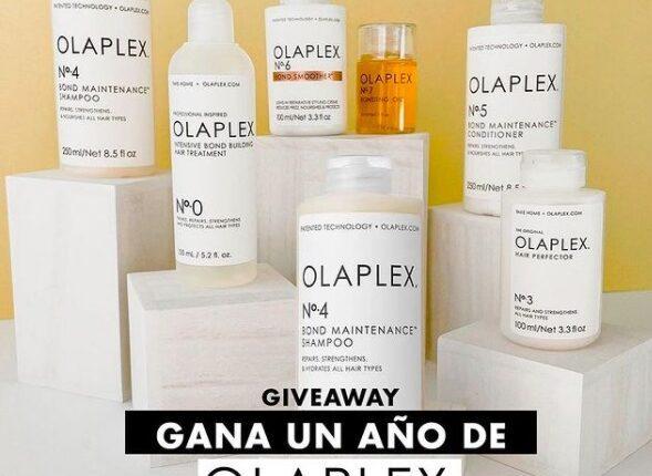 Giveaway Sally: gana un año de productos Olaplex