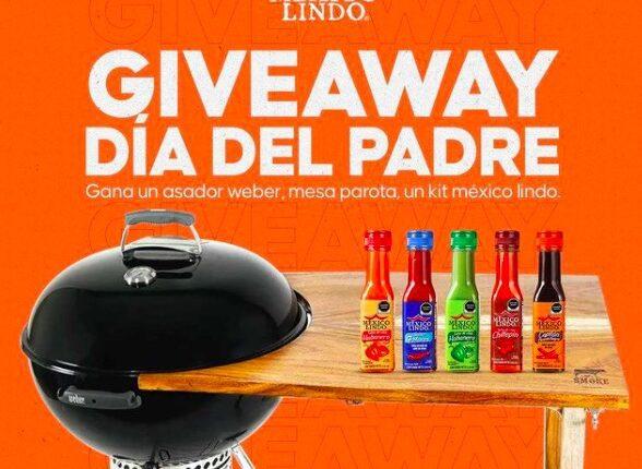 Giveaway del Día del Padre Salsas México Lindo: Gana un asador Weber y más