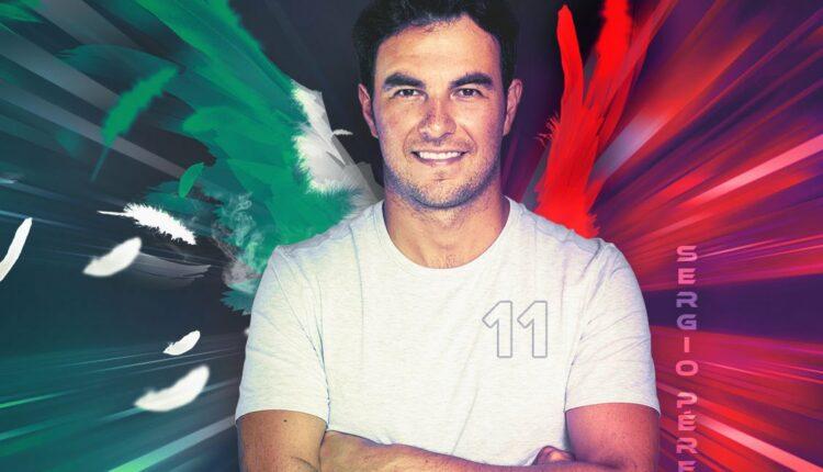 Gana 1 de 3 kits de la línea de ropa de Checo Pérez con Telcel