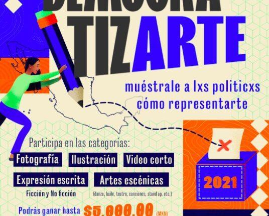Concurso UNAM DemocratizArte: Gana hasta $5,000 pesos