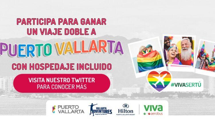 Gana un viaje a Puerto Vallarta cortesía de Viva Aerobus