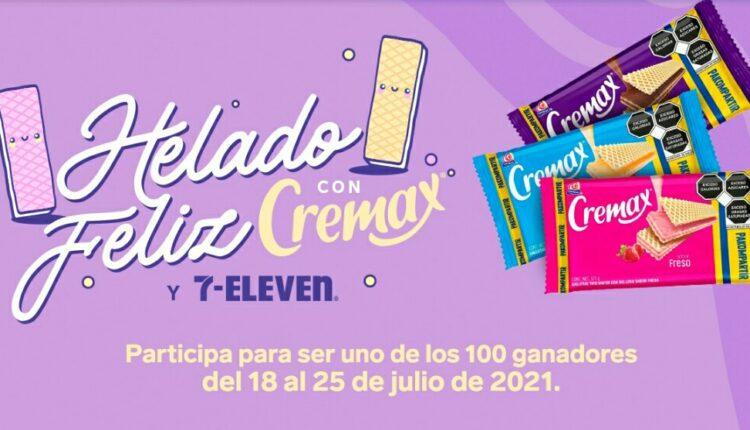 Promoción 7-Eleven Cremax Helado Feliz: Gana una de las 100 tarjetas Spotify Gratis